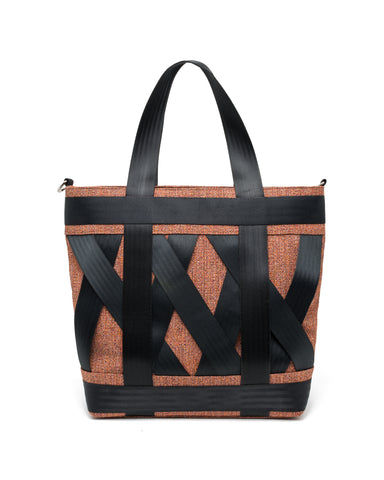 Red Leka Tote Handbag - From Belo