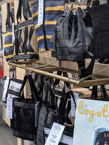 where to find recycled, sustainable bags near me?