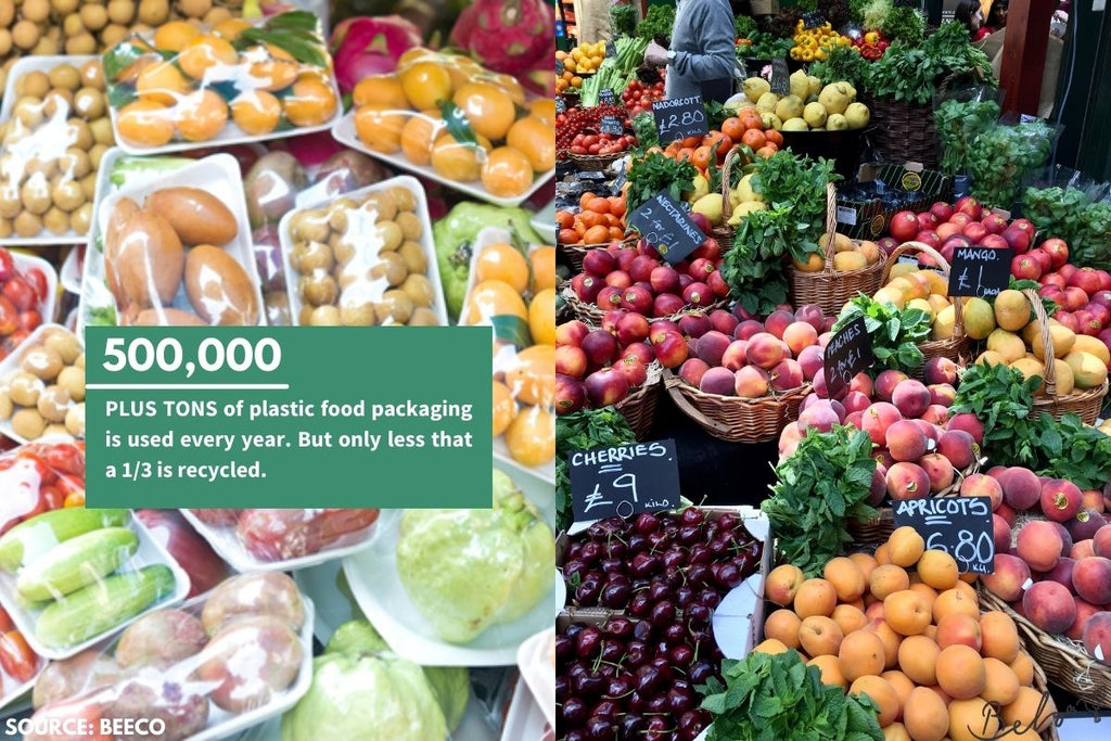 plastic free fruit is the answer - from belo