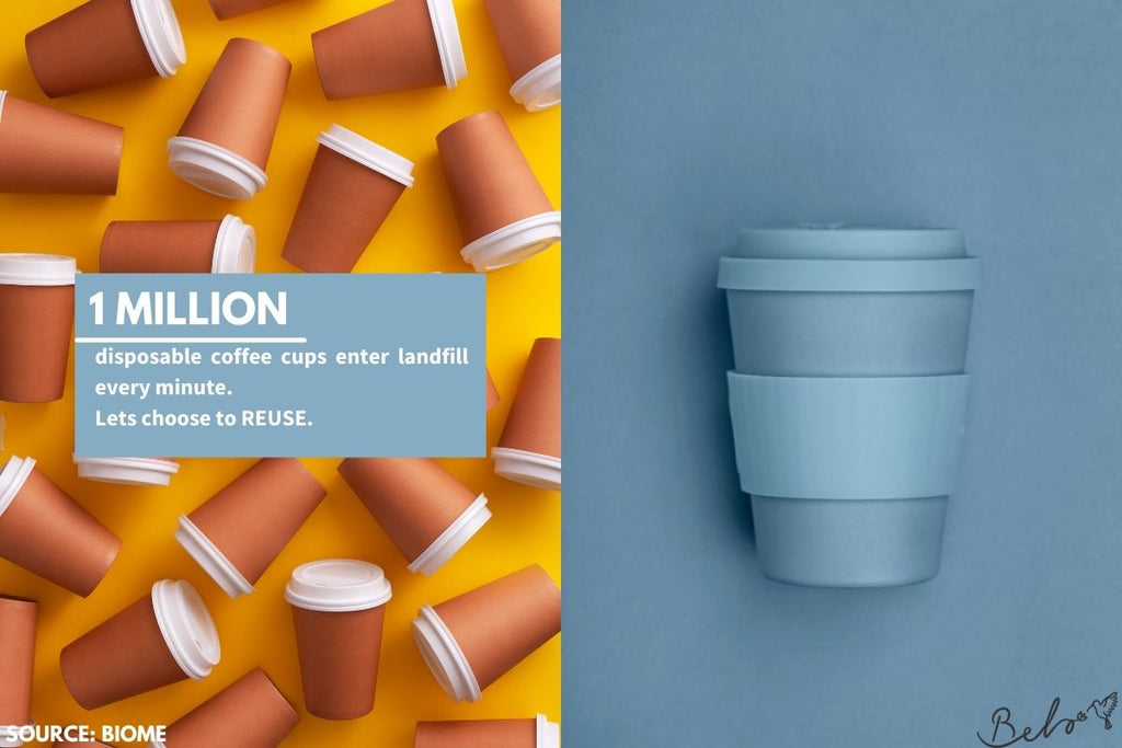 How to reduce your plastic pollution with reusable cups