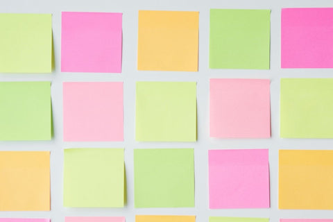 How to make your sticky notes more eco friendly