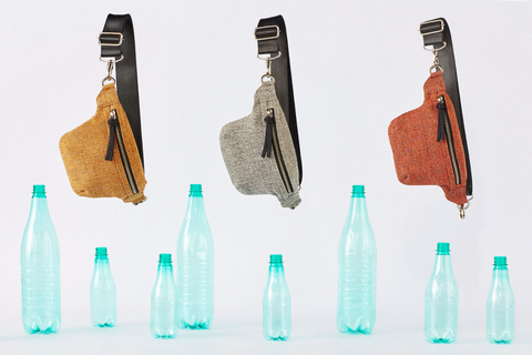 Recycled plastic bottle fabric by from belo