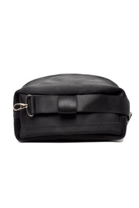 Black seatbelt Bucket Bag online UK - From Belo
