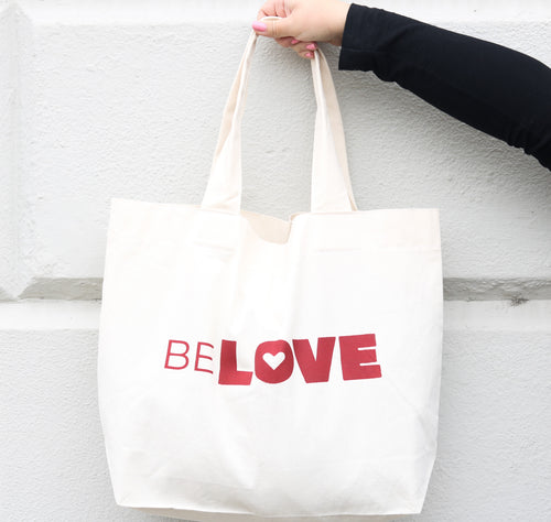Sustainable Cotton canvas Shopper bag, From Belo