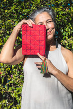 Red Ligia Pouch