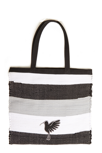 Black & White Cida Shopper Bag