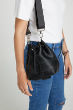 Mini Black Ju Bucket Bag