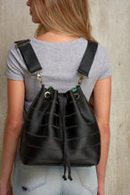 Black Ju Bucket Bag Backpack online UK - From Belo