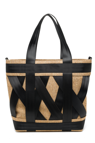 Gold Leka Tote Bag
