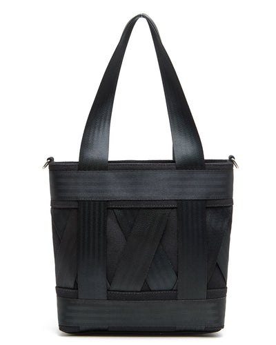 Mini Black Leka Tote Bag