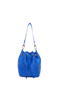 Mini Electric Blue Ju Bucket Bag
