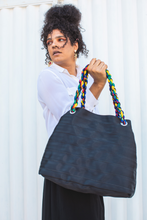 Radiant Black Helena Hobo Bag