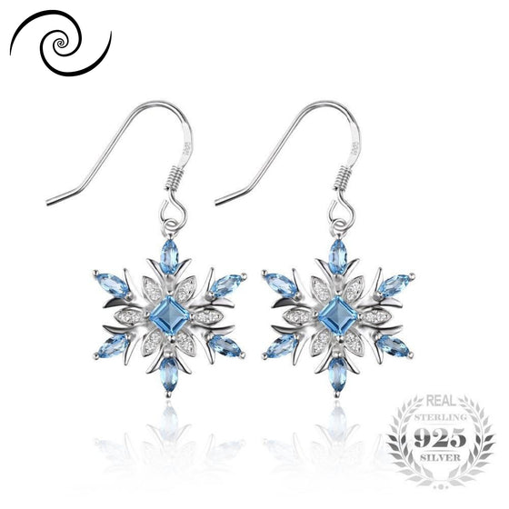Gorgeous Snowflake Earrings