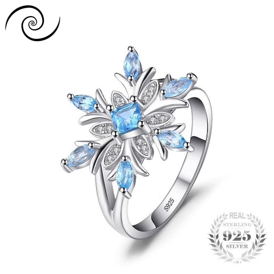 Gorgeous Snowflake Ring