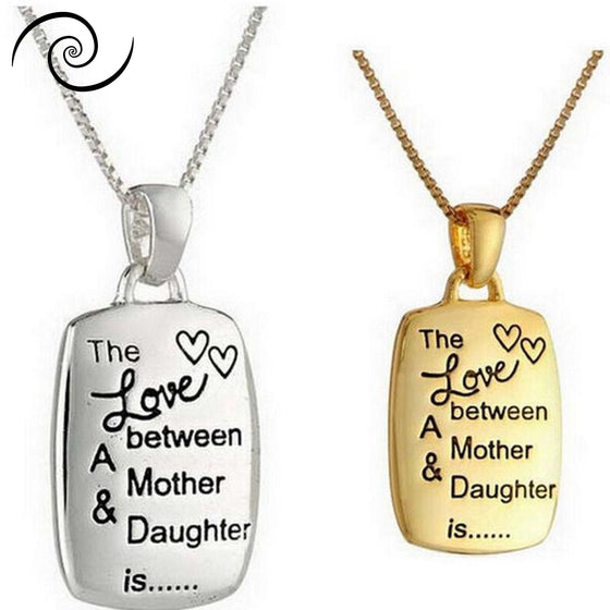 Mother & Daughter Love Necklare