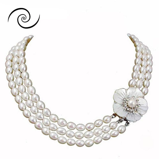 Natural Freshwater Pearl Necklaces