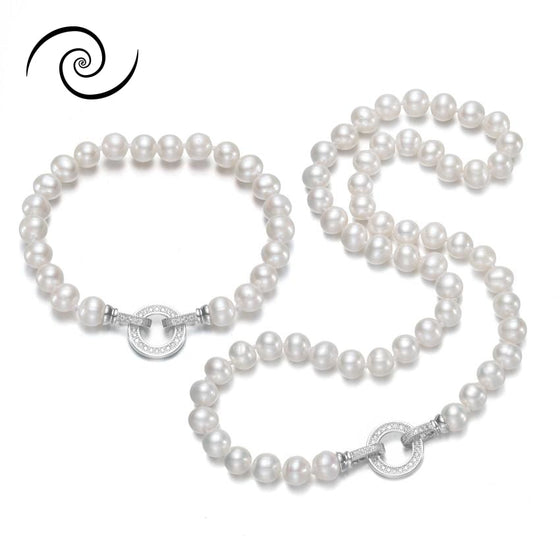 Natural Freshwater Pearl Set