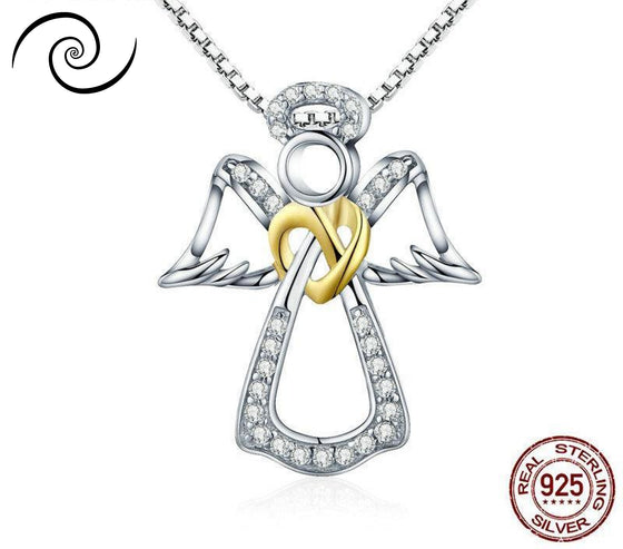 Stunning Guardian Angel Necklaces