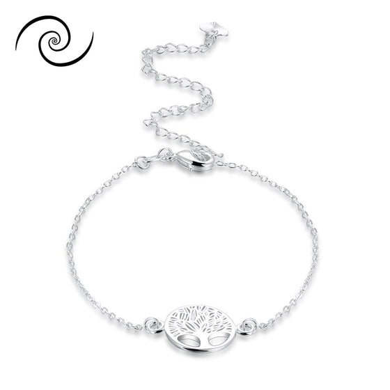 Tree Of Life Ankle Bracelet