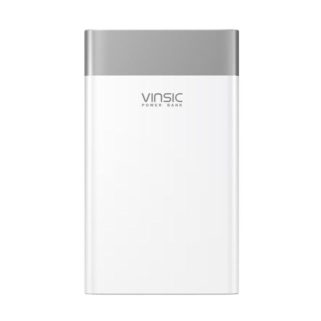 Vinsic Terminator P3 20000mAh Power Bank QC3.0 Quick Charge 2.4A Dual Output  with Type C Port  For Samsung, iPhone 8, Xiaomi