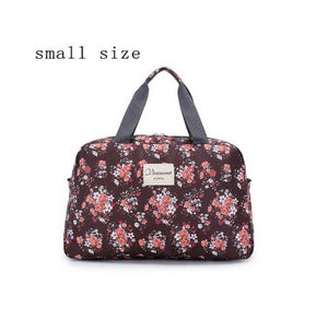 The Perfect Floral Weekend Bag - 2 sizes available