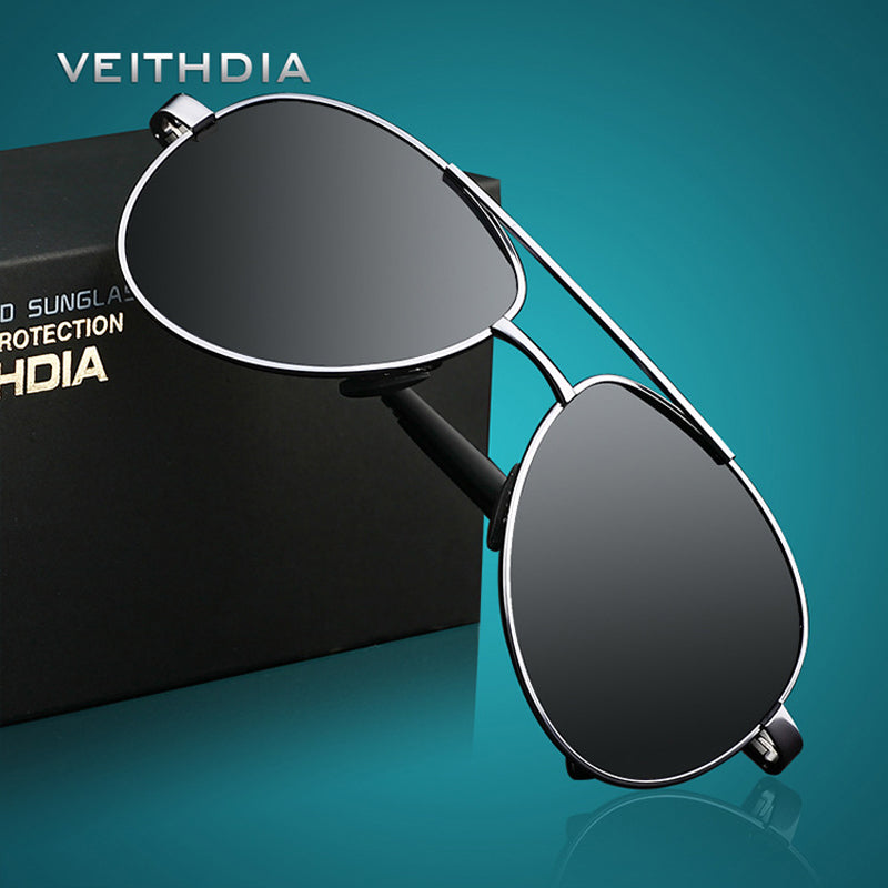 Designer Polarized Aviator Sunglasses for Men or Women