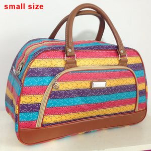 Leather Hard Case Weekender Bag. This duffle is so cute and comes in two different sizes.