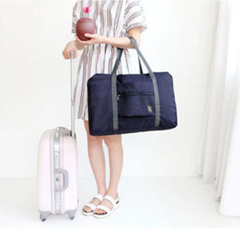 Fashion Duffle Bag for Traveling - Nylon and foldable