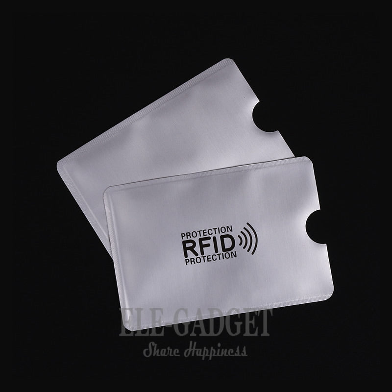 RFID card protector sheets (10 pieces)