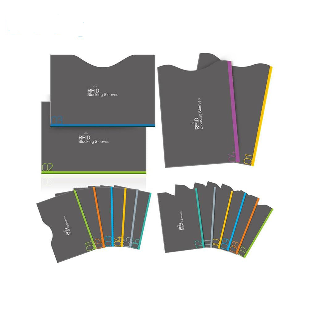 16 Piece / Set of RFID Blocking Sleeves for your Credit Cards
