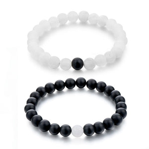 2 Pcs/Set Distance Bracelets Perfect for Best Friends or Couples