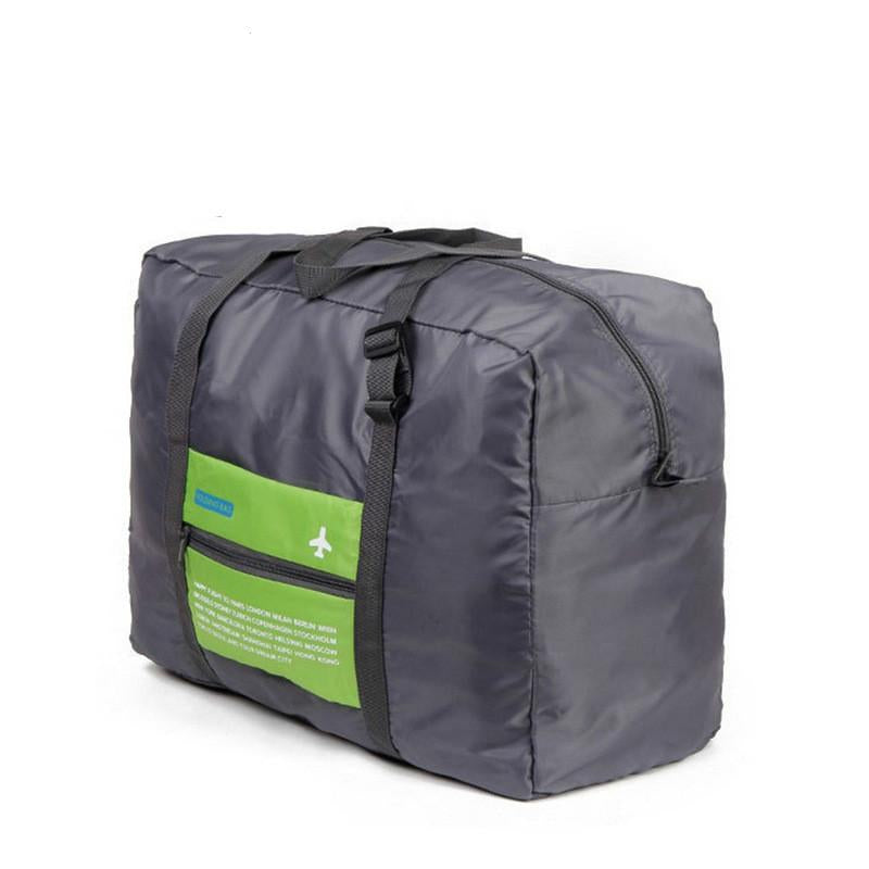 Large Capacity Nylon Travel Bag 14x18x8