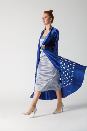 Modern Kaftan, Midnight Blue