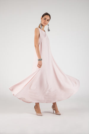 Sleeveless Gown Creamy