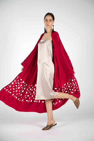 Casual Kaftan, Invincible Red