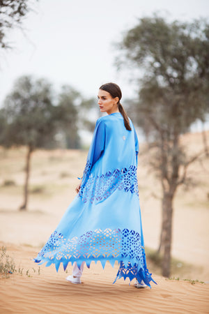Kaftan with sleeves, abaya, Arabian Sea