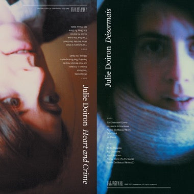 "Julie Doiron - ""Desormais"" / ""Heart and Crime"" (2-LP)"