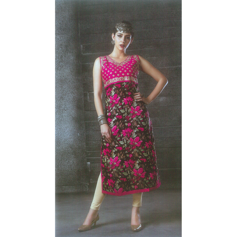 Extremely Royal Albeli Silk Sleeveless Kurtis for Merry-making Wears