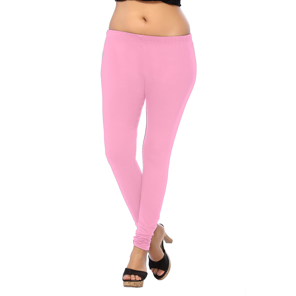 Stylish, Fancy, Illusion ANMOL COTTON ANKLE Two way Stretchable Leggings