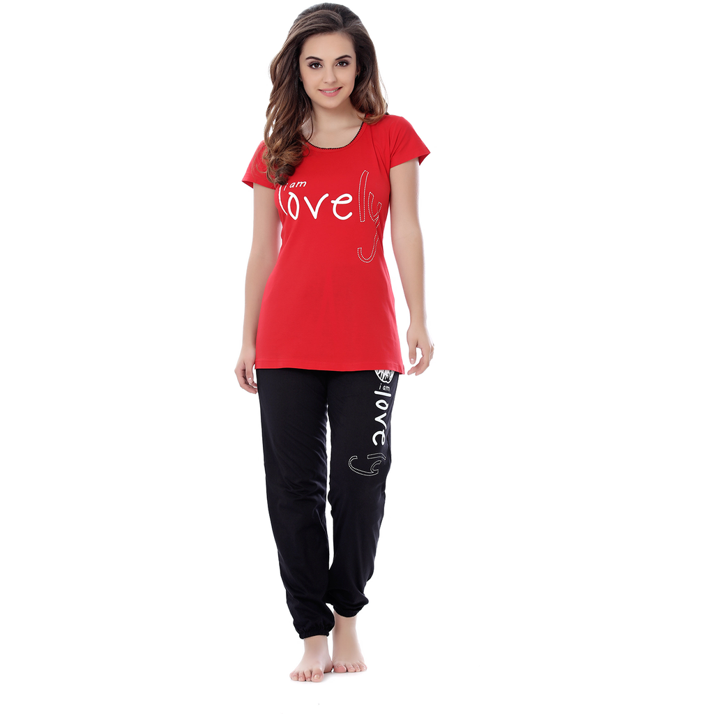 Hot and Beautiful Lounging Pyjamas Set for Casual Wear-SW250