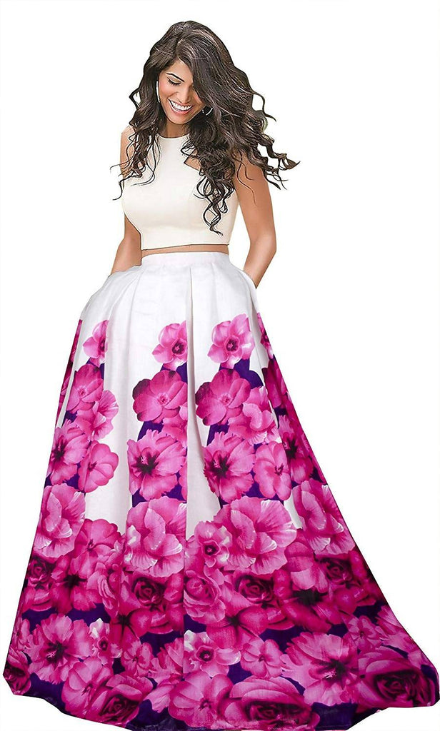 Harshita Creation Silk Lehenga Choli (HC-K-L-32-Zorba_Pink_Free size )