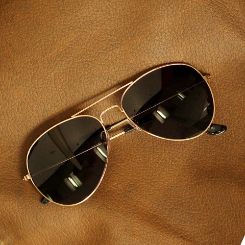 Black Sunglasses Aviator Goggles For Women