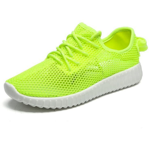 Green 2017 Spring/Summer Nice Sport Shoes For Women Lightweight Mesh Running Sneakers Women Luxury Black Pink Walking Jogging Sneakers
