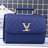 RB 2017 Designer PU leather handbag dress solid shoulder bag Mini bag lady messenger wallet and handbag