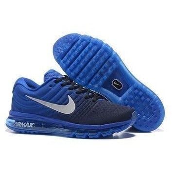 Nike Airmax 2017 Blue he Air Cushion Shoes