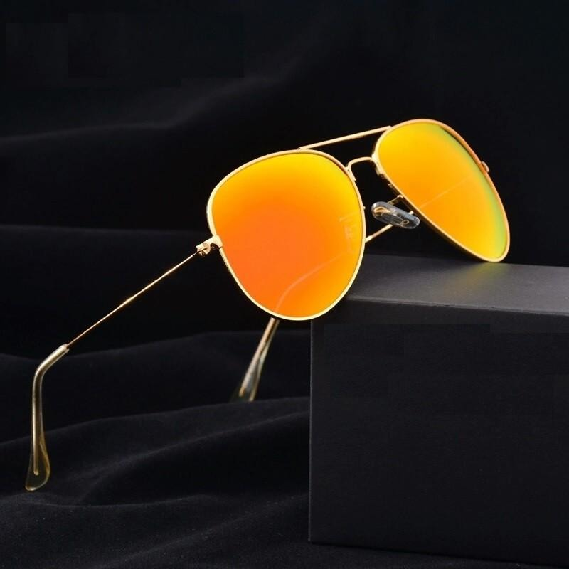 Sunglasses Golden Mercury Aviator Goggles For Men