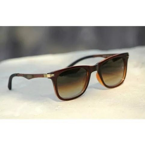 Sunglasses Brown Wayfarer Goggles For Men