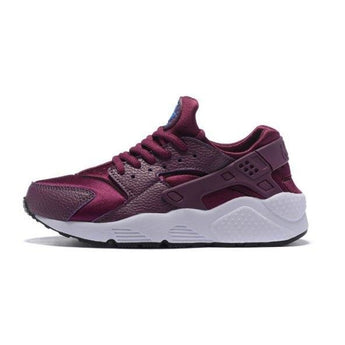 Beautiful Nike Air Huarache Purple White Girls Women's Running Shoes Trainers