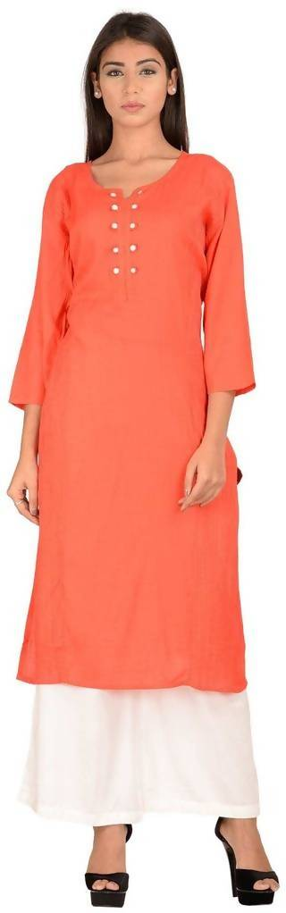 Cotton Solid Color Kurta