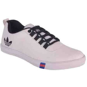 Austrich White Trendy & Stylish Synthetic Sneaker For Men